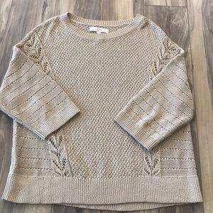 LOFT Cotton Knit Sweater